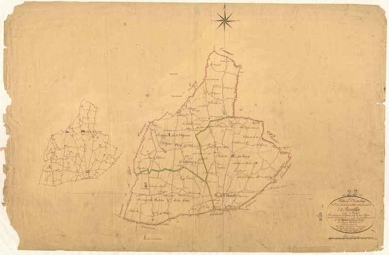 Plan cadastral de 1821